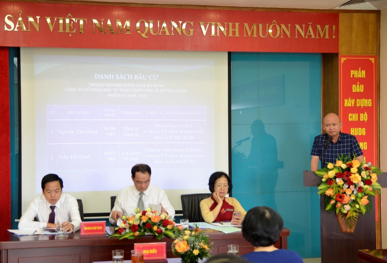 HUD6 tổ chức Đại hội đồng cổ đông thường niên năm 2020
