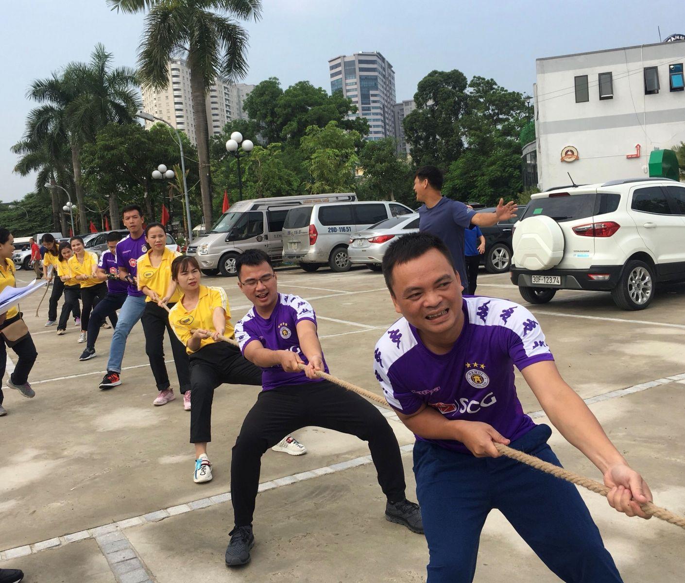 Công ty HUD6 tham gia hội thao HUD năm 2019