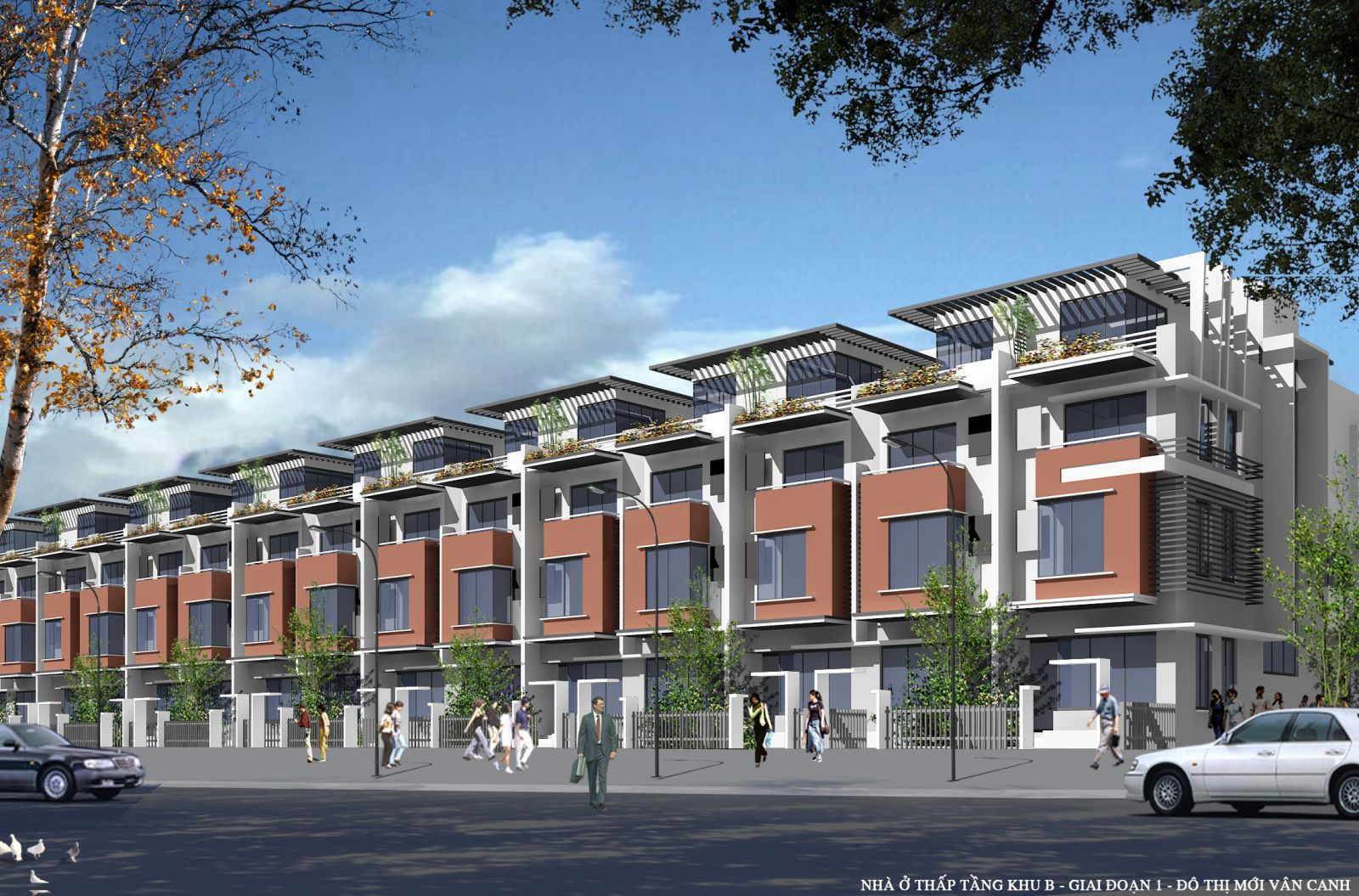 Dự án: Công trình nhà ở thấp tầng tại khu đô thị mới Vân Canh