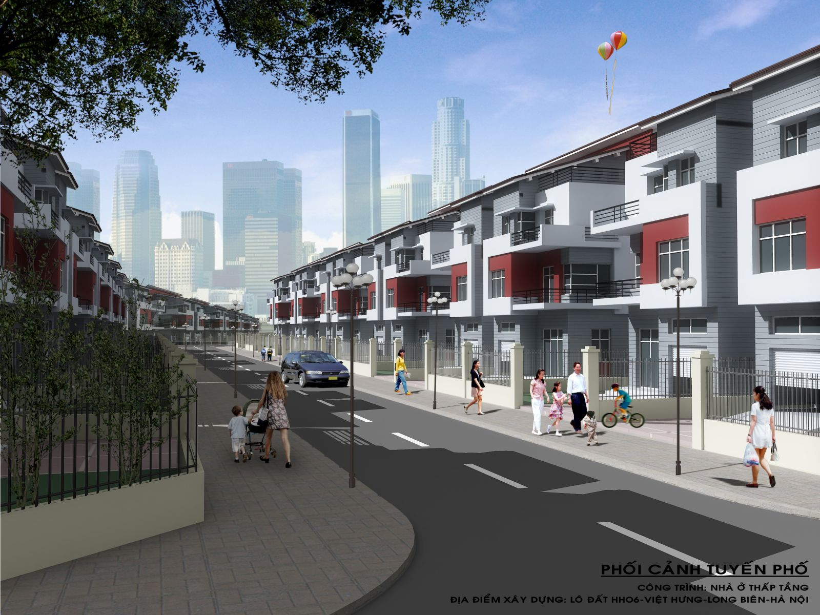 Dự án: Công trình nhà ở thấp tầng NO-06B