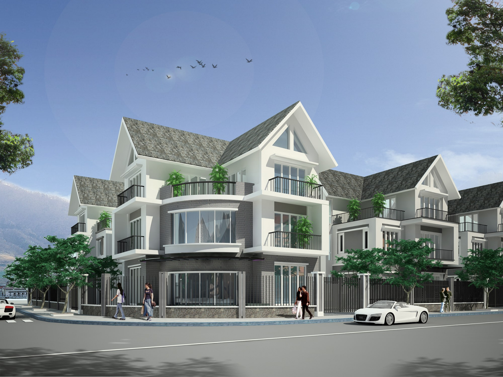 Dự án : Công trình nhà ở tại khu đô thị mới Đông Sơn