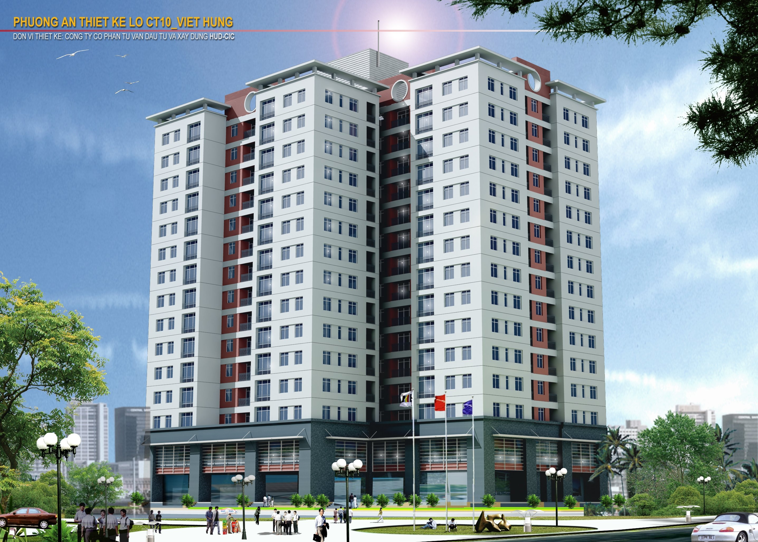 Dự án: Chung cư cao tầng CT10 Khu đô thị mới Việt Hưng